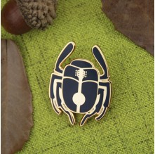 Beetle Custom Enamel Pins