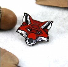 Fox Custom Enamel Pins