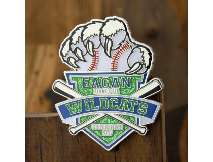 Baseball Trading Pins For Eagan Wildcats