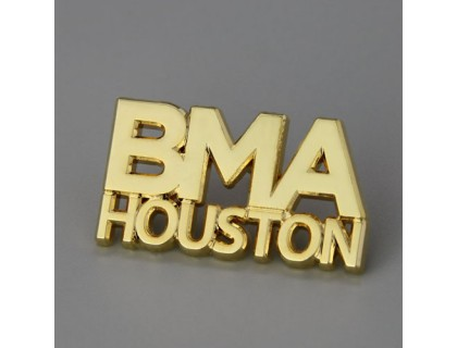 BMA Houston Enamel Pins