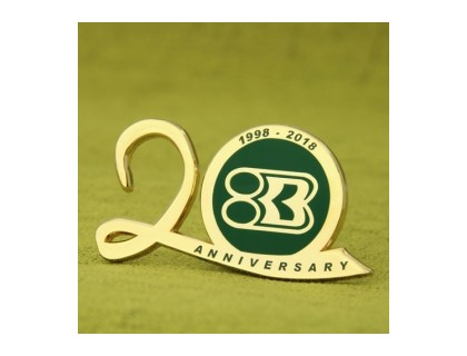 Custom Lapel Pins of Anniversary