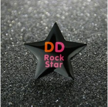 Rock Star Enamel Pins