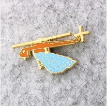 Artificial Rainfall Lapel Pins