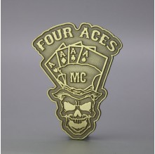 Four Aces Enamel Pins