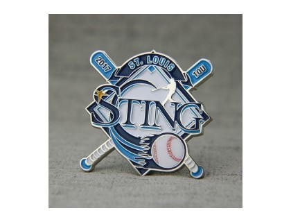 St. Louis Sting Baseball Trading Pins
