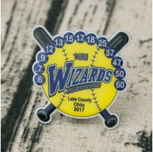 Wizards Fastpitch Trading pins