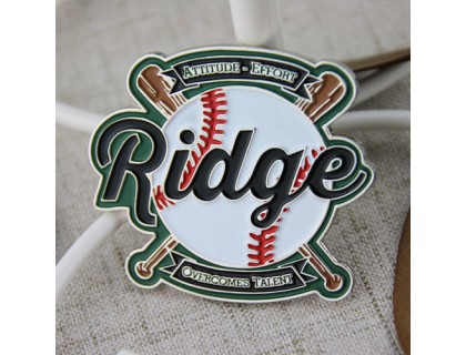 Ridge Baseball Trading Pins