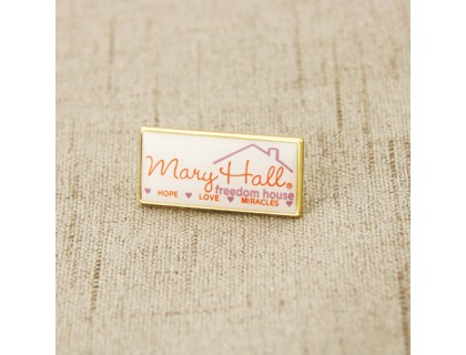 Mary Hall Freedom House Enamel Pins