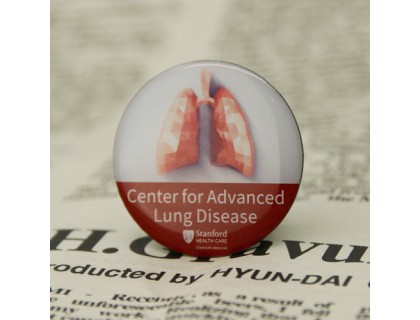 Stanford's Center for Advanced Lung Disease Custom Pins