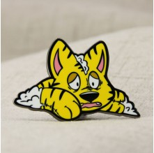 Tiger Enamel Pins
