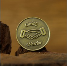 Caring Warrior Lapel Pins
