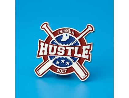 Indiana Hustle Baseball Trading Pins