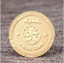 Krystal Pride Club Custom Pins