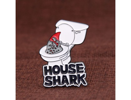 House Shark Custom Pins