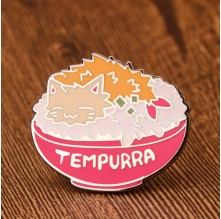 Tempurra Custom Lapel Pins
