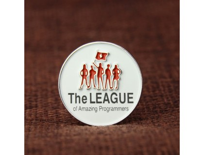 The League of Amazing Programmers Pins