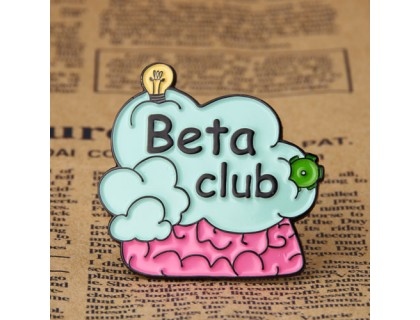 Beta Club Custom Pins