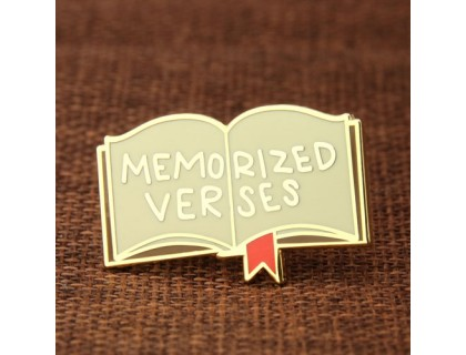Memorized Verses Custom Pins