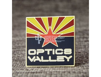 Optics Valley Hard Enamel Pins