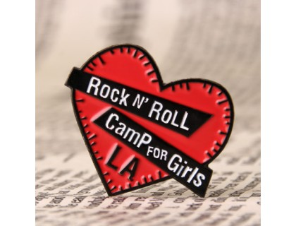 Rock n' Roll Camp For Girls Lapel Pins