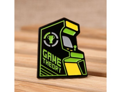 Game Theory Custom Pins