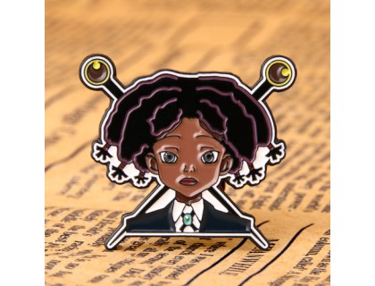 Little Girl Custom Enamel Pins