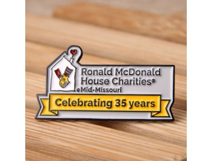 Ronald McDonald House Charities Lapel Pins