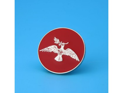 Peace Dove Custom Pins