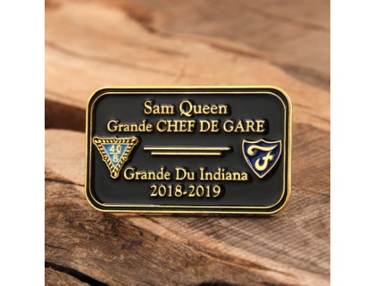 Grande Chef De Gare Lapel Pins