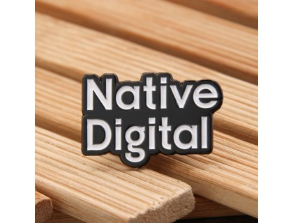 Native Digital Lapel Pins