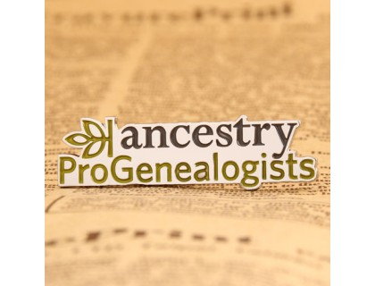 Ancestry ProGenalogists Custom Pins