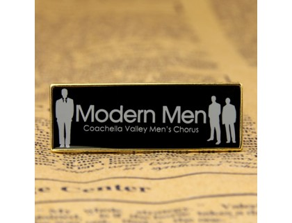 Modern Men Custom Lapel Pins