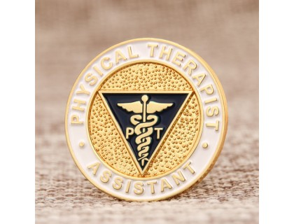 Physical Therapist Assistant Custom Pins