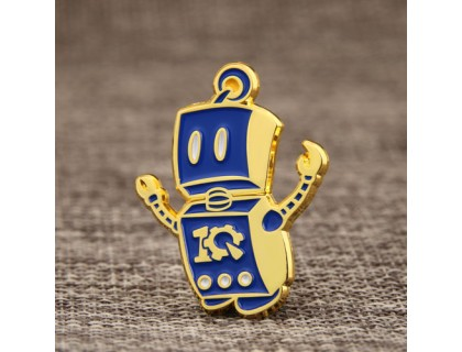 Robot Custom Lapel Pins