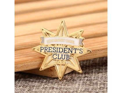 President Club Lapel Pins