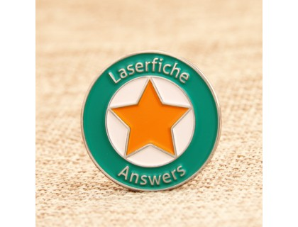 Laserfiche Answers Custom Lapel Pins