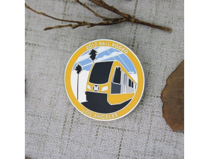 Rail Custom Lapel Pins