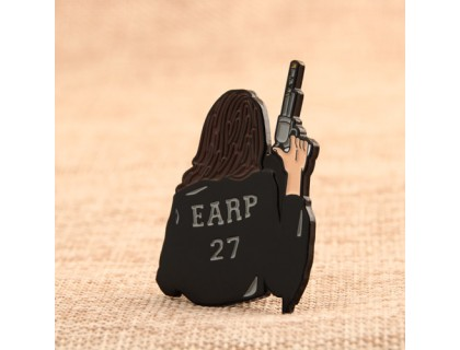 Cool Woman Custom Lapel Pins