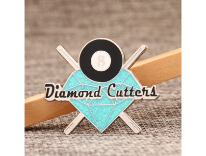 Diamond Custom Lapel Pins