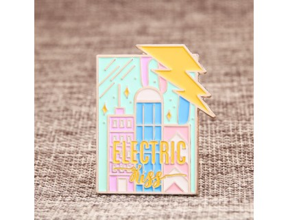 Electric Kiss Lapel Pins Fast