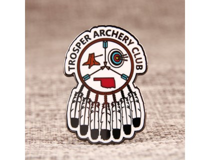 Trosper Archery Club Lapel Pins