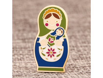 Matryoshka Doll Custom Lapel Pins
