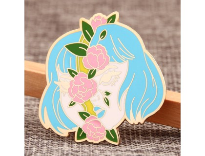 The Flower Girl Custom Lapel Pins