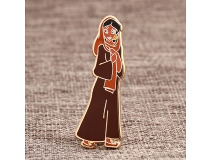 Girl Custom Pins Canada