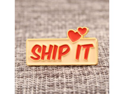 SHIP IT Custom Lapel Pins