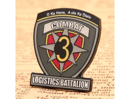 Logistics Battalion Custom Lapel Pins