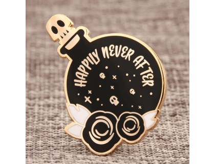 Happily N'Ever After Lapel Pins Fast