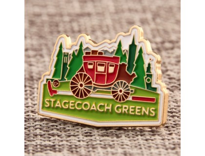 Stagecoach Greens Custom Lapel Pins