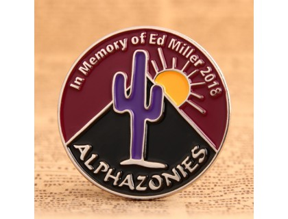 Memory Custom Lapel Pins