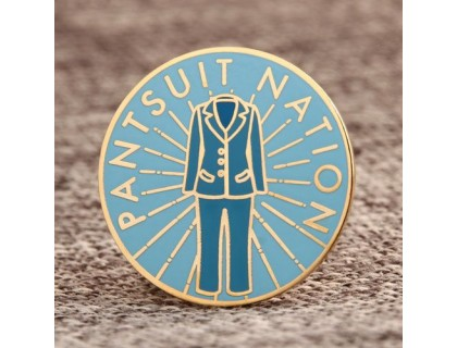 Pantsuit Nation Custom Lapel Pins